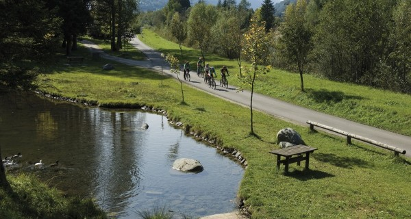 Bike path of the Val di Sole