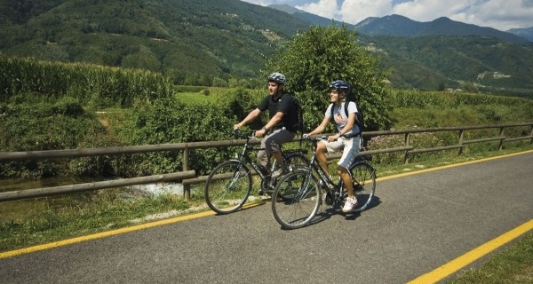 Valsugana bike path