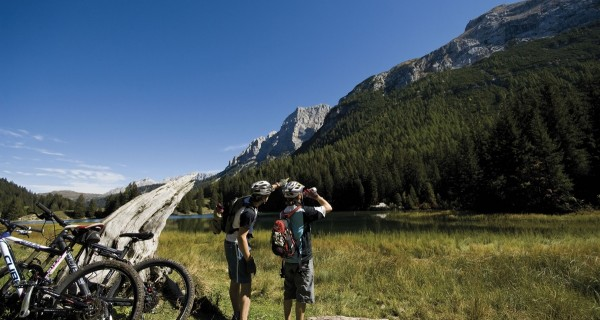 "MTB ""Country"" route in the Brenta Dolomites"